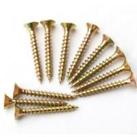 Quality Sus304 Sus316 Spax Solid Wood Flooring Screws For Plywood Subfloor Yellow White for sale