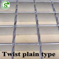 construction drainage steel bar grating price cross bar pitch 50mm grating Manufactures
