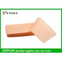 Yellow Green Color Non Woven Cloth , Window Cleaning Cloths Extra Absorbent Manufactures