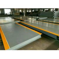 100 Ton Electronic Lorry Weighbridge High Precision Weighing Load Cell Manufactures