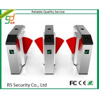 Biometric Rfid 4 Door Automatic Systems Turnstiles Tpc Ip , High Security Manufactures
