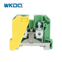 JEK 16/35 Screw in Ground Terminal Block Connector 2 Way Earth Protective Durable Nylon PA66 Standard High Quality Green Manufactures