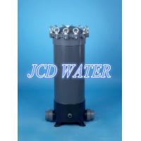China 30 GRP / FRP Cartridge Water Filter Housing For Water Purification on sale