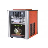 LCD Display Table Top Ice Cream Machine / Commercial Refrigerator Freezer Manufactures