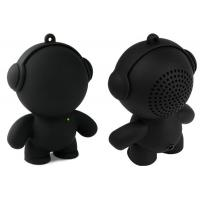 Black Bear Wireless Cell Phone Speakers Powered With TF Card Manufactures