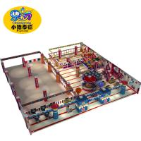 Shopping Centers Toddler Indoor Play Equipment , Commercial Childrens Soft Play Equipment Manufactures
