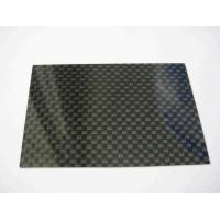 High quality of Glossy finished carbon fiber sheet for Rc plane Manufactures
