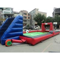 Exciting Large Fireproof Inflatable Sports Games For Football Sporting Manufactures