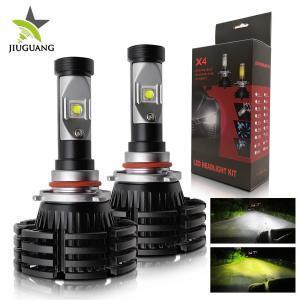 X4 Automotive Led Light Bulbs , H7 Led Headlight Bulb 8000 Lm Decoder Manufactures