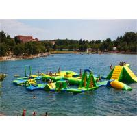 0.9mm PVC Tarpaulin Giant Inflatable Water Play Equipment Inflatable Water Park Manufactures