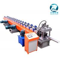 Heavy Duty Metal C Profile Cold Roll Forming Machine With Double 15kw Motor Control Manufactures