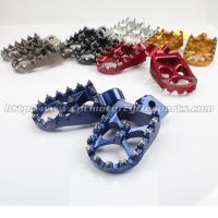 Aluminum Adjustable Foot Pegs For Motorcycles Manufactures