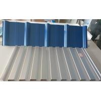 SGCC Grade Prepainted PPGL Prepainted Steel Coil For Roofing / Panel 55% Al- ZN Base Material Manufactures
