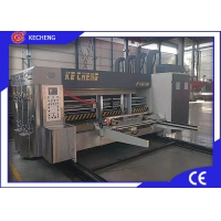 Lead Edge Feeding Corrugated Carton Printer Slotter Die Cutter Machine 2 Colors Manufactures