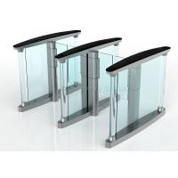 Intelligent Swing Gate Turnstile Security Systems, Controlled Access Turnstiles Speedgate Manufactures