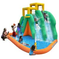PVC Giant Inflatable Water Amusement Park / Inflatable Sports Game For Kids Manufactures