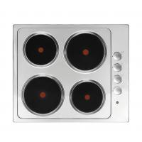 Household Appliance Stainless Steel Electric Hob 4 Burner Solid Plate for Cooking Manufactures