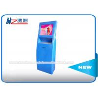 Debit Card Instant Ticket Vending Machines In Railways Station With Custom Logo Manufactures