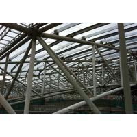 Quality Prefabricated Steel Building Space Stadium Framework Q235B , Q345B Grade for sale