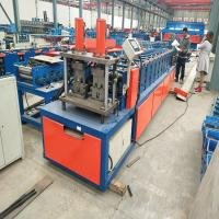 Automatic Arch Sheet Roll Forming Machine For Purlin / Thick Building Material Manufactures