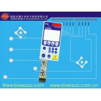 PC Digital Keypad Silicone Rubber Membrane Switch ,El Display Backlit Keyboard Manufactures