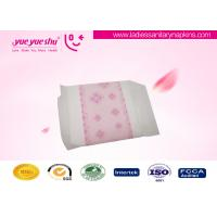 Customized Cotton Healthy Sanitary Napkins 240mm / 290mm Lengths Optional Manufactures