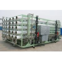 Power Plant Large Scale Water Purification Systems , 8000 Lph Ro Treatment Plant Manufactures