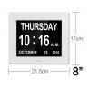 American Lifetime LED Digital Desk Electronic Perpetual Calendar Alarm Day Clock Manufactures