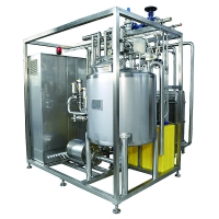 PLC with touch screen stainless steel pipes and valves pasteurization of milk equipment Manufactures