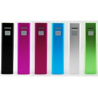 5200mAh Lipstick Portable USB Power Bank With Lithium Battery Manufactures