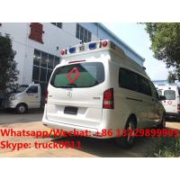 Quality 2017s new BENZ VITO gasoline engine transporting ambulance vehicle for for sale