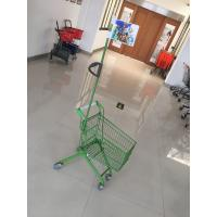 Carbon Steel Play Kids Shopping Carts Flag Logo Pole 465 X 330 X 686mm For Children Manufactures