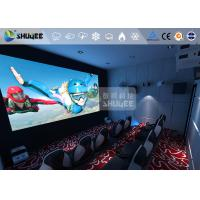 360 Degree Screen Mini Cinema 6D Movie Theater Immersive Experience / Special Effects Manufactures