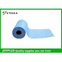 Disposable Non Woven Cleaning Cloth Roll , Non Woven Fabrics Classic Style Manufactures