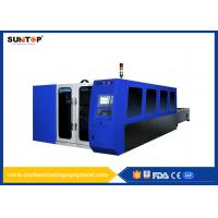 2000W fiber laser Cutter For 8mm Thickness Stainless Steel Cutting, swiss laser cutting head Manufactures