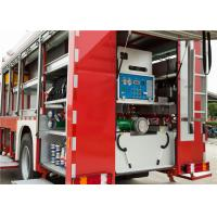 Scientific Lighting System Airport Rescue Truck , Electric Warning Siren Aircraft Fire Truck Manufactures