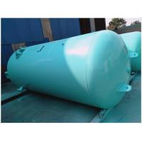 Blue Vertical Air Receiver Tank Pressure Vessel , Low Pressure Air Compressor Holding Tank Manufactures