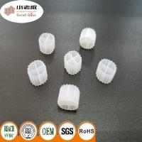 K1 MBBR Filter Media With White Color And 900m2/m3 Suface Area 11*7mm Size Manufactures