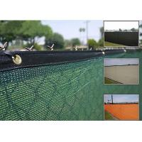 PE Material Commercial Fence Screen Mesh Folded 3cm Webbing / 5cm Webbing Manufactures