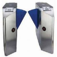 TCP / IP Security & Electric Mechanism Single Wing Turnstile Gate with Rfid Card Reader Manufactures