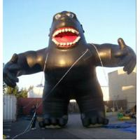 Cute Cartoon Inflatable Model , Inflatable Chimps For Commercial Advertising Manufactures