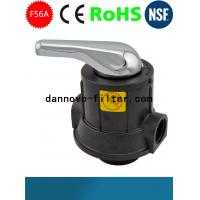 Quality Runxin Metal Handle Distributing Multi-function Manual Filter Control Valve F56A 4m3/h for sale