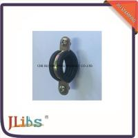 Single Pipe Clamp Fittings M7 With EPDM Rubber Yellow Zinc Galvanized Pipe Connector Clamp Manufactures