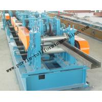 Automatic C / Z Purlin Roll Forming Machine Interchangeable For Steel Frame Manufactures