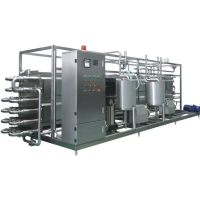Automatic Stainless Steel UHT Milk Processing Line For Aseptic Filling Manufactures