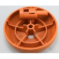 Orange / Red Injection Moulding Products , ABS PC Electronic Housing Custom Molded Plastics Manufactures