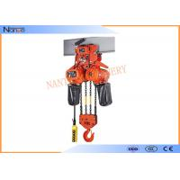 2 Ton / 5 Ton Electric Hoist Trolley Lever Chain Hoist With Safety Hook Manufactures