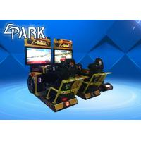 42'' Lcd Carbon Arcade Racing Game Machine Support 4 Players Competing Online Manufactures