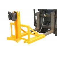 Upgrated Eager-gripper Clamp Drum Clamp Attachment with 540-690mm Adjusting Height Manufactures