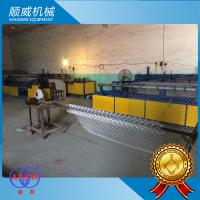 Chain Link Wire Machine Weaving Opening 25mm - 100mm CNC Operation Manufactures
